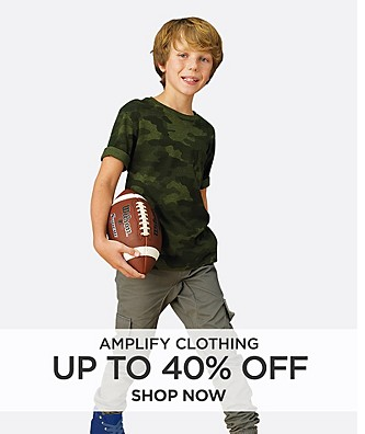 Up to 40% off Amplify Clothing for Boys