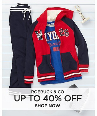 Up to 40% off Roebuck & Co.