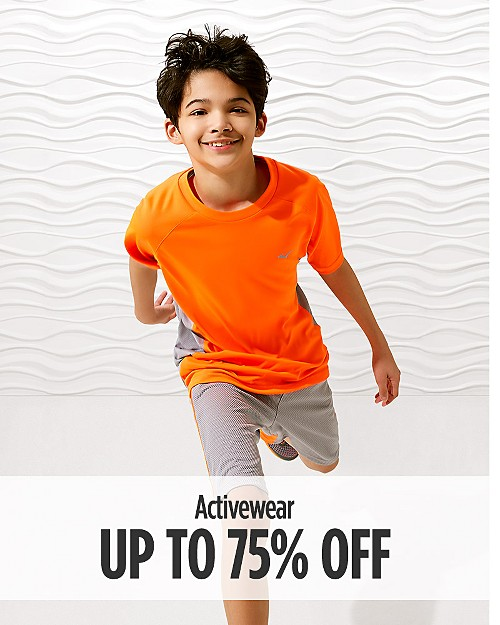 Up to 75% off Activewear