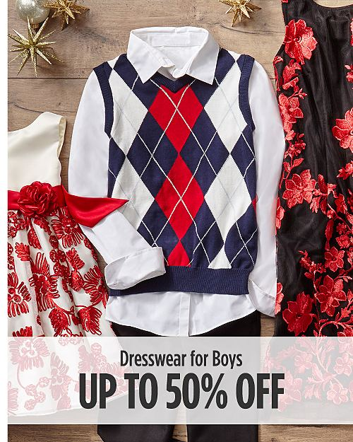 Up to 50% off Dresswear for Boys
