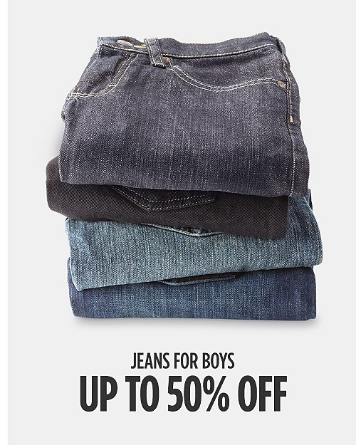Up to 50% off Jeans for Boys. Shop now