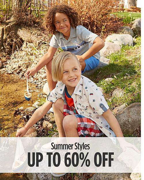 Up to 60% off Summer Styles