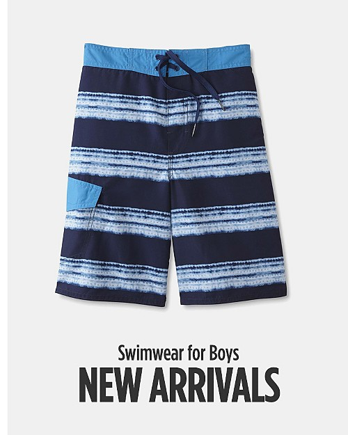 New Arrivals! Swimwear for Boys. Shop now