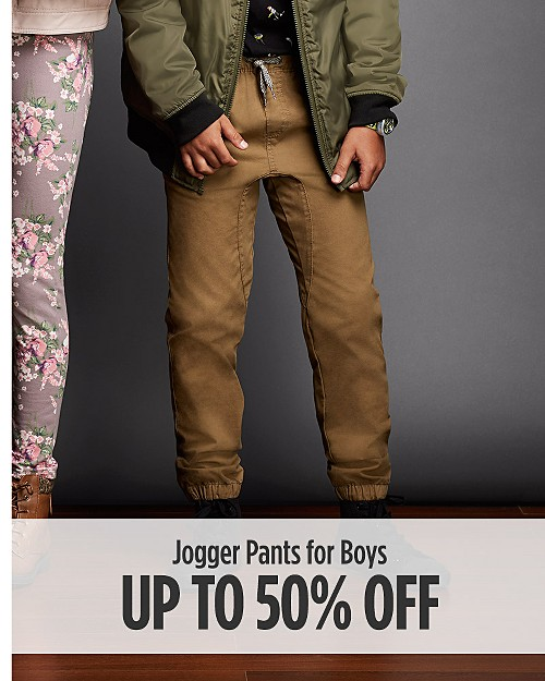 Up to 50% off Jogger Pants for Boys