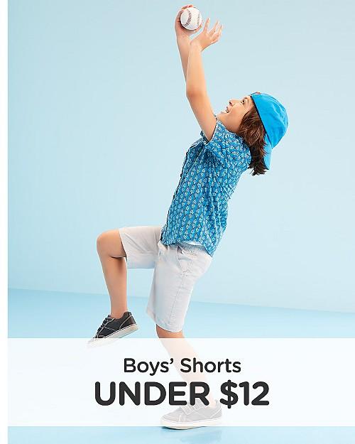 Boys' Tees Under $12