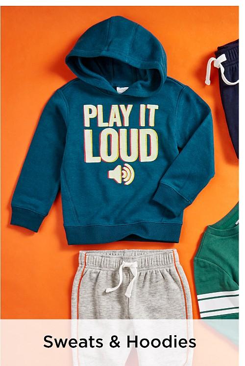 Boys' Sweats & Hoodies