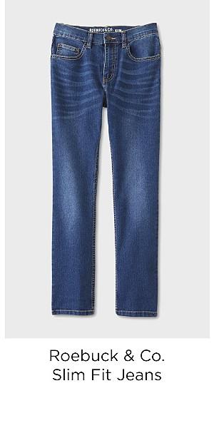 Roebuck & Co. Boys' Slim Fit Jeans