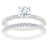Petite Shank Diamond Bridal Set