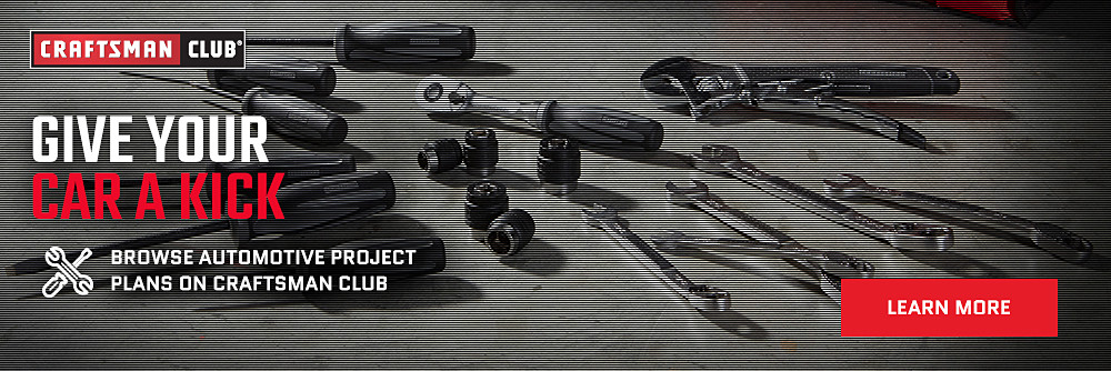 Browse Automotive Project Plans on Craftsman Club