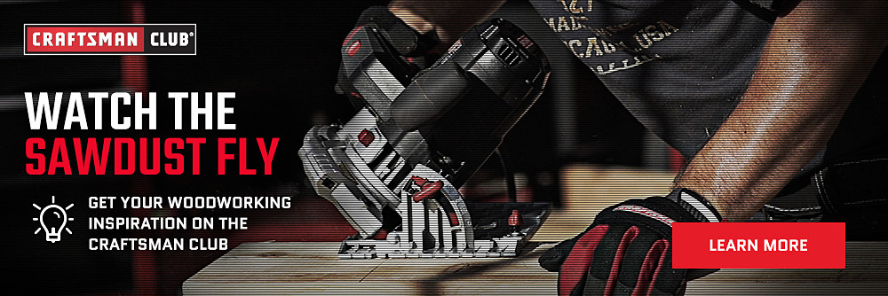 Get Your Woodworking Inspiration on the Craftsman Club