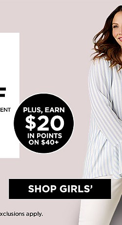 Extra 25% off When You Use a Sears Card. Extra 20% off with any other form of payment on Clothing and Accessories with code SAVEBIG Ends 4/29/17. Exclusions Apply.  Plus, Earn $20 in Points on $40+
