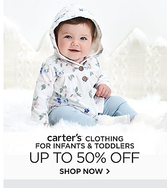 Up to 50% off Carter's Clothing for Infants and Toddlers