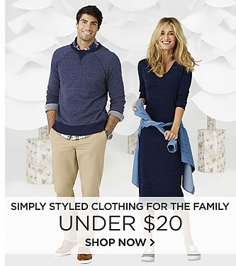Simply Styled Clothing for the Family Under $20