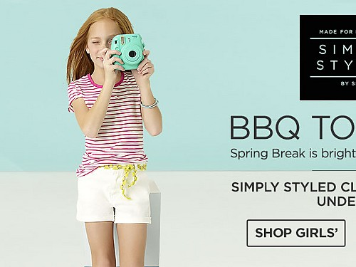 Simply Styled Clothing for Kids Under $20