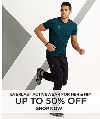 Up To 50% Off Everlast Activewear For Her And Him
