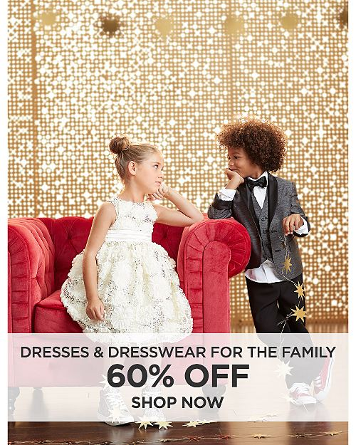 60% off Dresses and Dresswear For The Family. Shop Now.