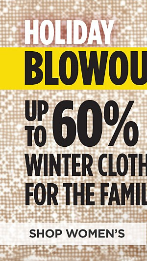 Up to 60% off Winter Clothing for the Family. Shop Womens
