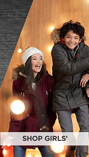 Black Friday Now! 60% off coats & jackets for the family online only. Shop Girls