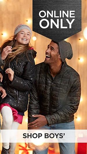 Black Friday Now! 60% off coats & jackets for the family online only. Shop Boys