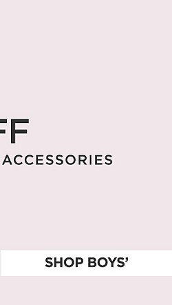 Up to 60% off coats & cold weather accessories. Shop Boys