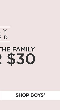 Simply Styled clothing for the family under $30. Shop Boys