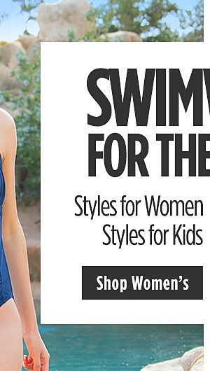 Swimwear for the Family | Styles for women starting at $16 | Styles for kids 50% off. Shop Womens