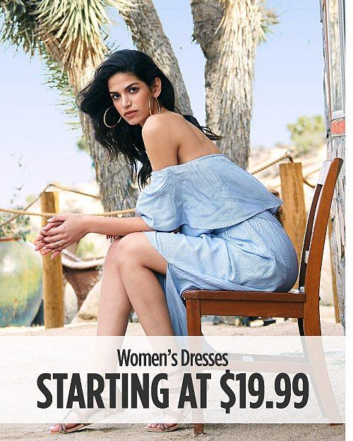 Women's Dresses Starting at $19.99