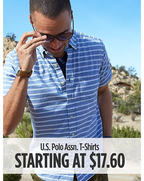 U.S. Polo Assn. T-Shirt Starting at $17.60