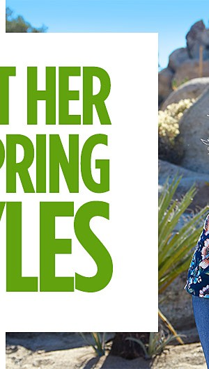 Treat Her to Spring Styles