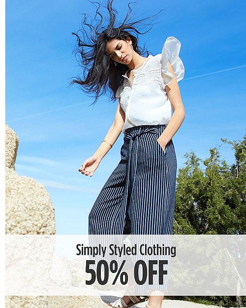 50% off Simply Styled Clothing