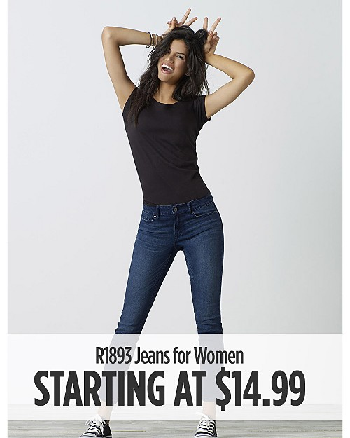 R1893 Jeans for Women Starting at $14.99