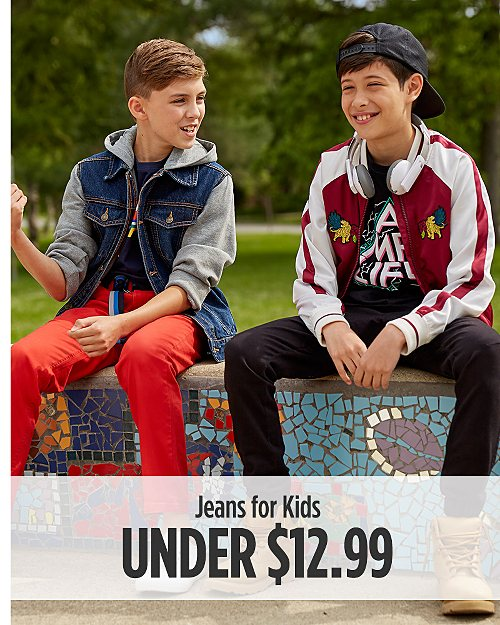 Jeans for Kids Under $12.99