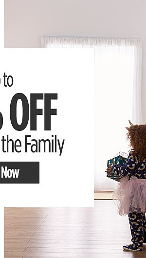 Up to 50% Off Clothes for the Family