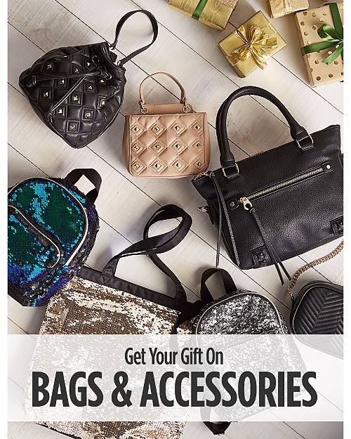 Get Your Gift On! Bags & Accessories!