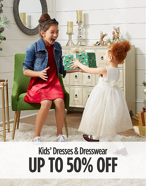 Up to 50% off Kids Dresses and Dresswear