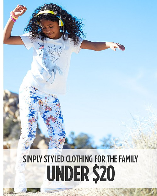 Simply Styled Clothing for Her, Him & Kids Under $20. Shop now