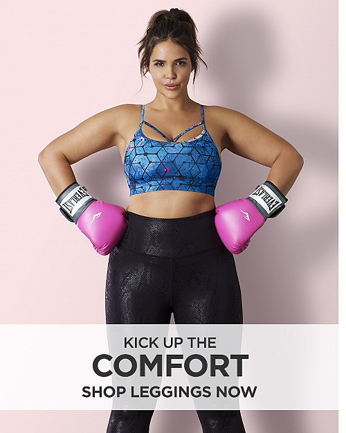Kick Up the Comfort. Shop leggings now