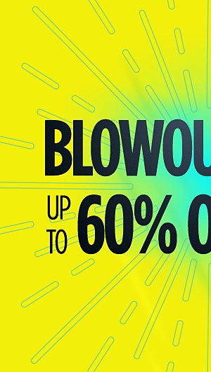 Summer Blowout! Up to 60% off Clothing and Accessories