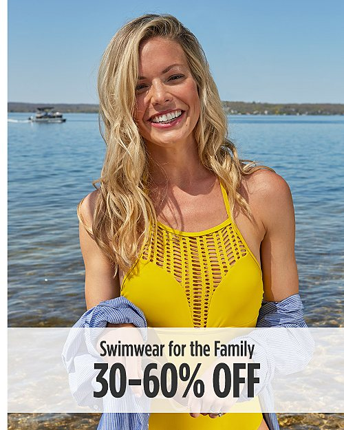 30-60% Off Swimwear For The Family