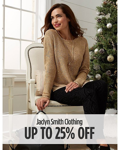 Up to 25% off Jaclyn Smith Clothing