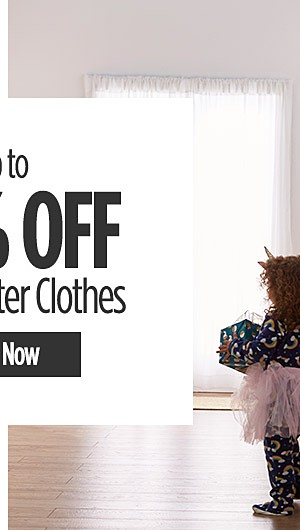 Up to 40% off Fall and Winter Clothes