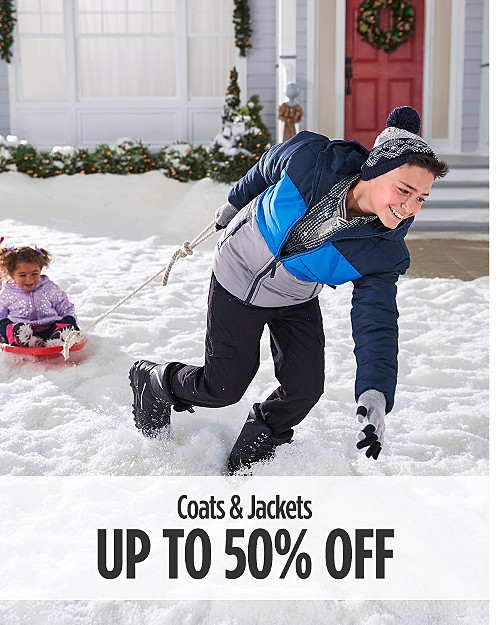 Up to 50% off Coats and Jackets