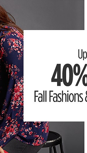 Up to 40% Off Fall Fashions & Bras for Her
