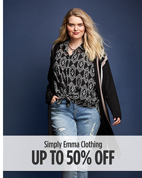 Up to 50% off Simply Emma Clothing