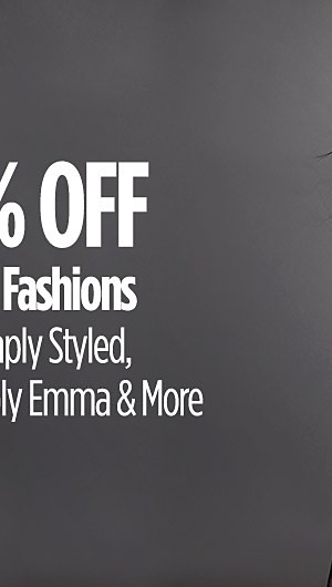 25-30% Off Women's Fall Fashions. Jaclyn Smith, Simply Styled, Laura Scott, Simply Emma, and More