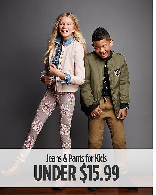 Jeans & Pants for Kids under $15.99