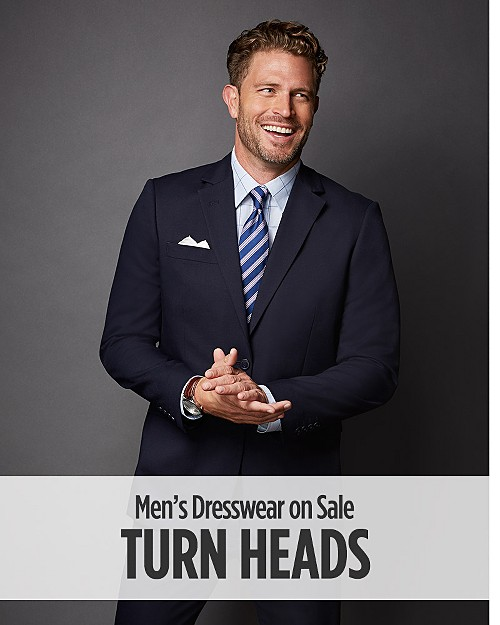 Turn Heads! Men's Dresswear on Sale