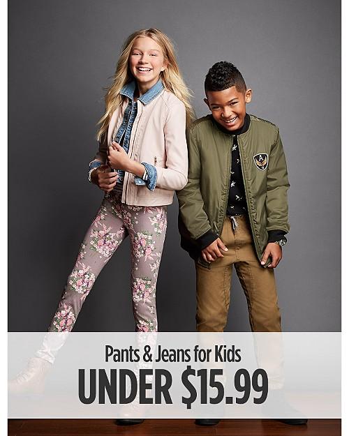 Pants & Jeans for Kids under $15.99