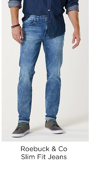 Roebuck & Co. Men's Slim Fit Jeans