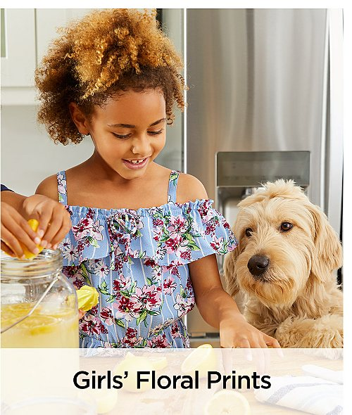 Girls' Floral Prints